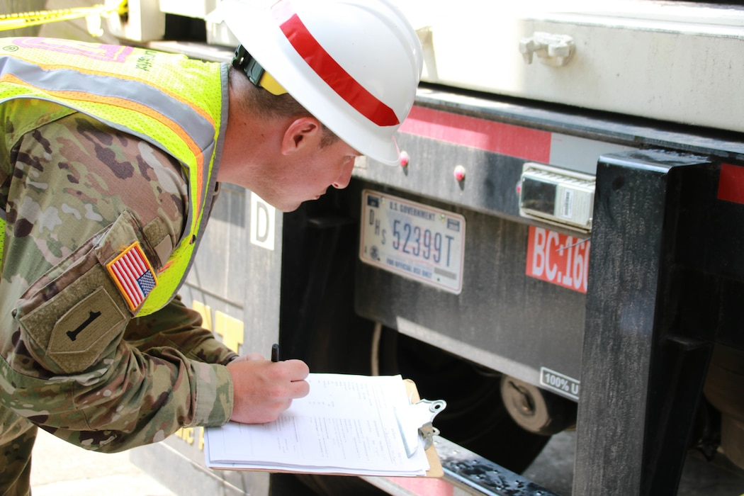 Capt. Aaron Miley from Honolulu District, support the Federal Emergency Management Agency (FEMA) assigned Temporary Emergency Power Mission as part of the U.S. Army Corps of Engineers Hurricane Recovery mission in southeastern Louisiana.