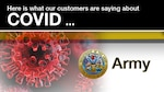 The global pandemic has required constant, consistent and engaging communication products to be developed to educate the government workforce about the dangers of COVID and the necessity to get vaccinated. As a result, many of the Defense Contract Management Agency's customers have created compelling and unique products for their workforce. Today, we focus on the Army.