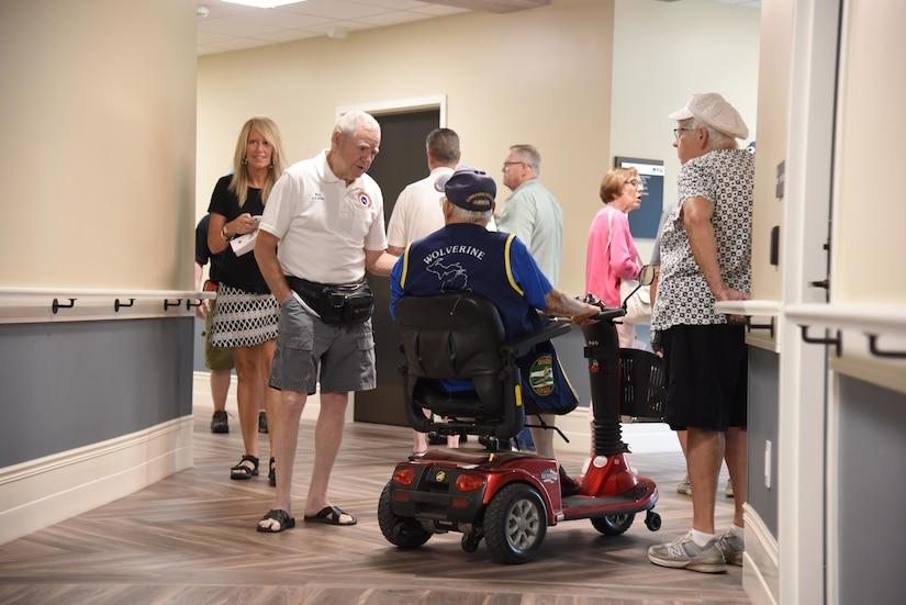 New Michigan Veteran Homes at Grand Rapids Home Hosts Community