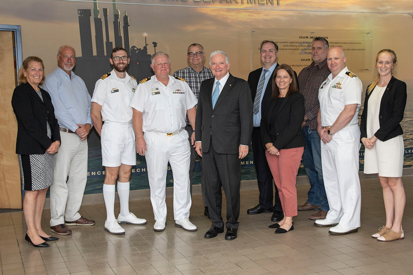 NUWC Division Newport partnership with Royal Australian Navy highlighted during tour by consul general