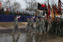 Virginia Guard on hand to help welcome new governor