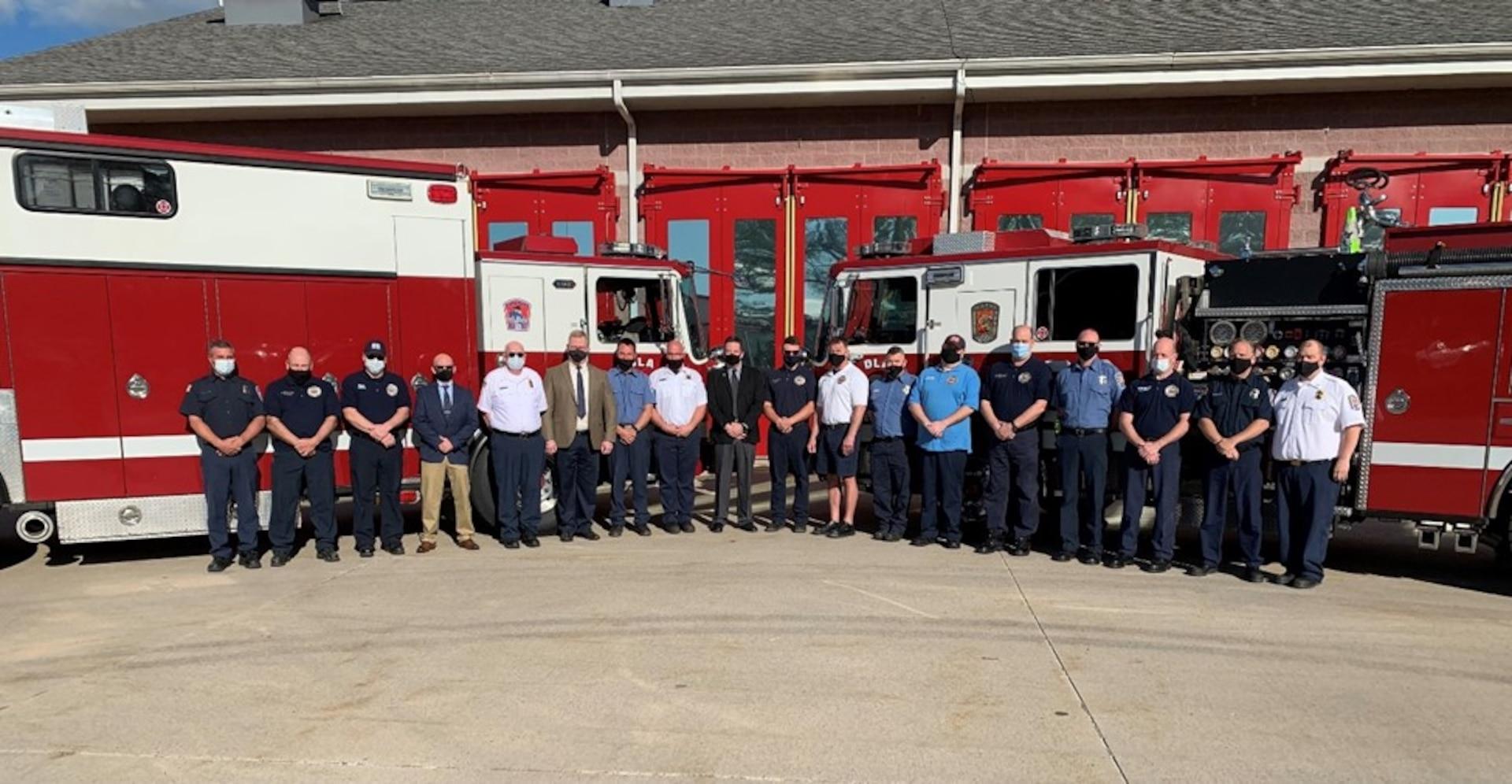 DLA Susquehanna Fire Department awarded international accredited status