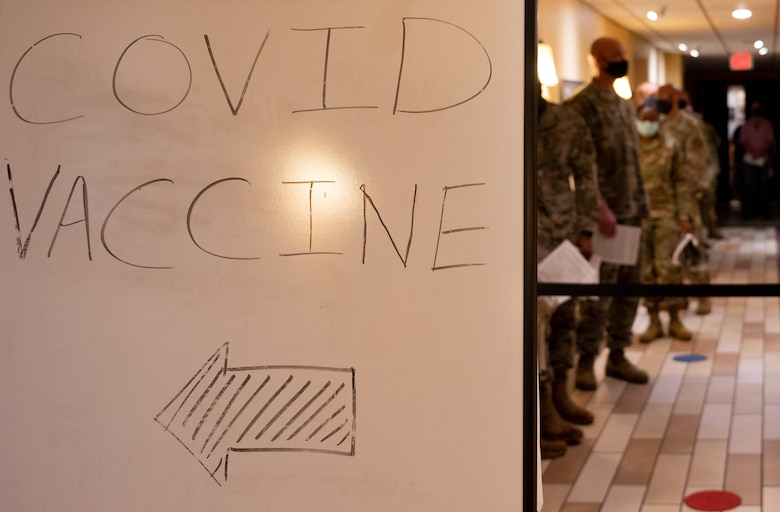 Vaccinations will help ensure service members' health and safety while preserving the department's readiness and ability to execute worldwide air and space forces missions, according to department leaders.