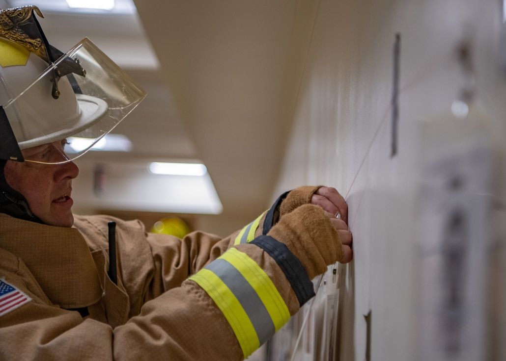 Firefighters honor fallen first responders in 9/11 memorial stair climb.