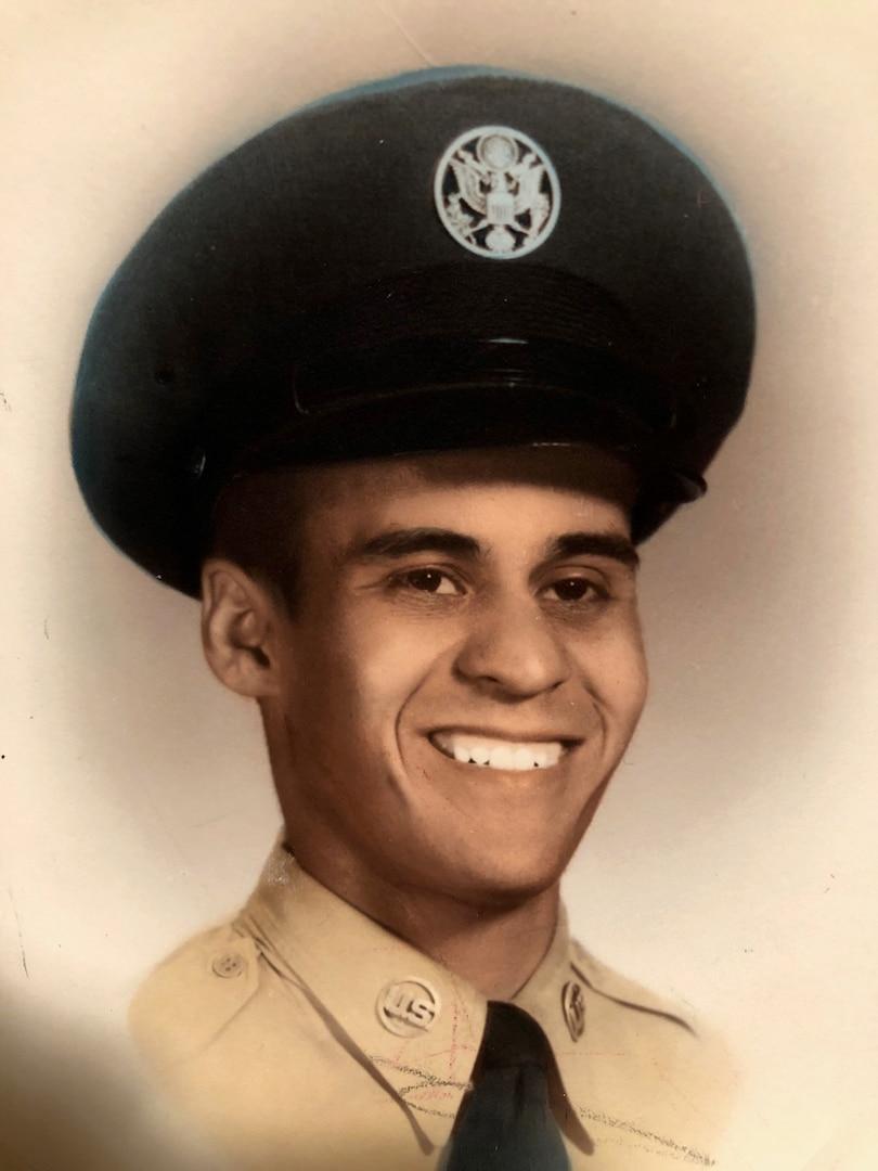 Man in Air Force uniform.