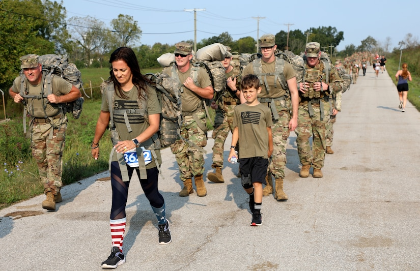 About 200 runners, walkers and ruck marchers took part in this years event which opened up options to do a 5k. 10k or the full 10 mile course.