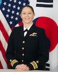 bio photo  Lt. Cmdr. Jen G. Schumacher Officer in Charge, Navy Information Operations Detachment (NIOD) Korea