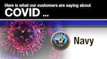 The global pandemic has required constant, consistent and engaging communication products to be developed to educate the government workforce about the dangers of COVID and the necessity to get vaccinated. As a result, many of the Defense Contract Management Agency's customers have created compelling and unique products for their workforce. Today, we focus on the Navy.