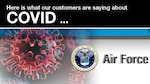 The global pandemic has required constant, consistent and engaging communication products to be developed to educate the government workforce about the dangers of COVID and the necessity to get vaccinated. As a result, many of the Defense Contract Management Agency's customers have created compelling and unique products for their workforce. Today, we focus on the Air Force.