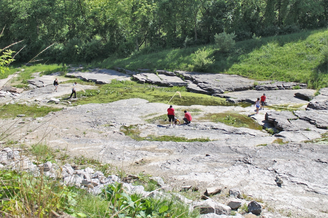 Devonian Fossil Gorge at Coralville Lake