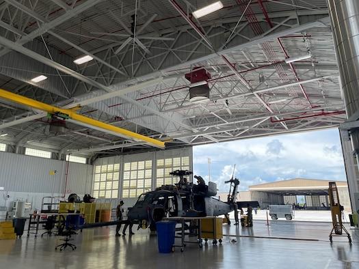 Renovated Maintenance Hangar