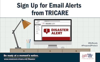 TRICARE Email Alert Sign up