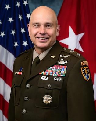 Maj. Gen. James bio photo