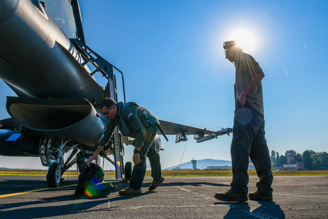 31 FW conducts ACE training during Agile Wyvern