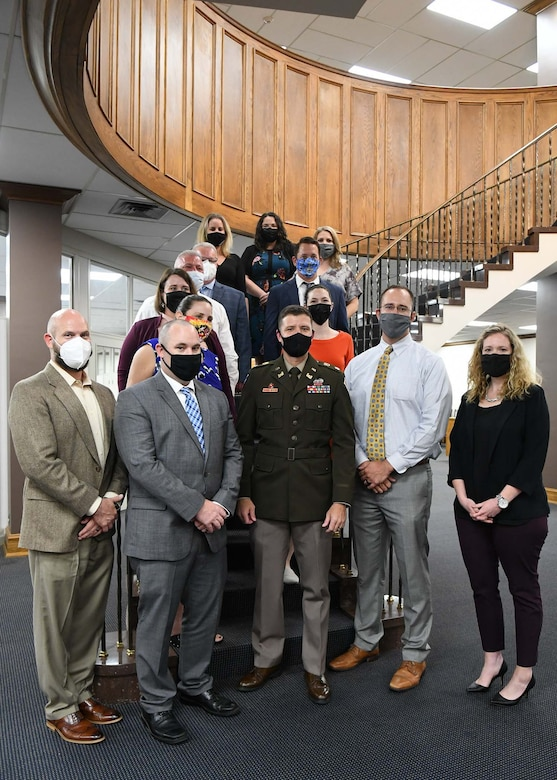 LDP II graduates and class coordinators are joined by Commander Lt. Col Sahl for their last class photo at the Scarritt Bennett Center in Nashville, Tennessee.