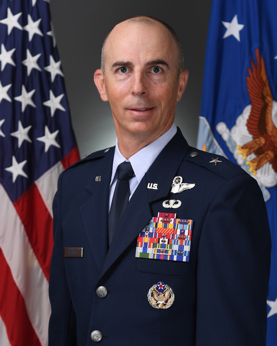 This is the official portrait of Brig. Gen. Steven G. Behmer.