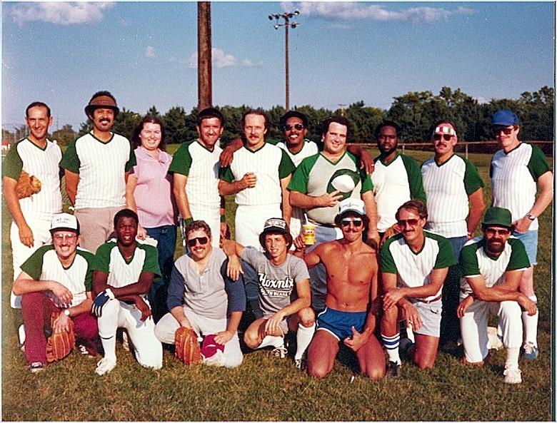 1982 softball team photo