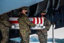 Marines with Alpha Company, Marine Barracks Washington, had the solemn and honorable duty to serve as the Dignified Transfer Team for the fallen Marines at Dover Air Force Base, Delaware.