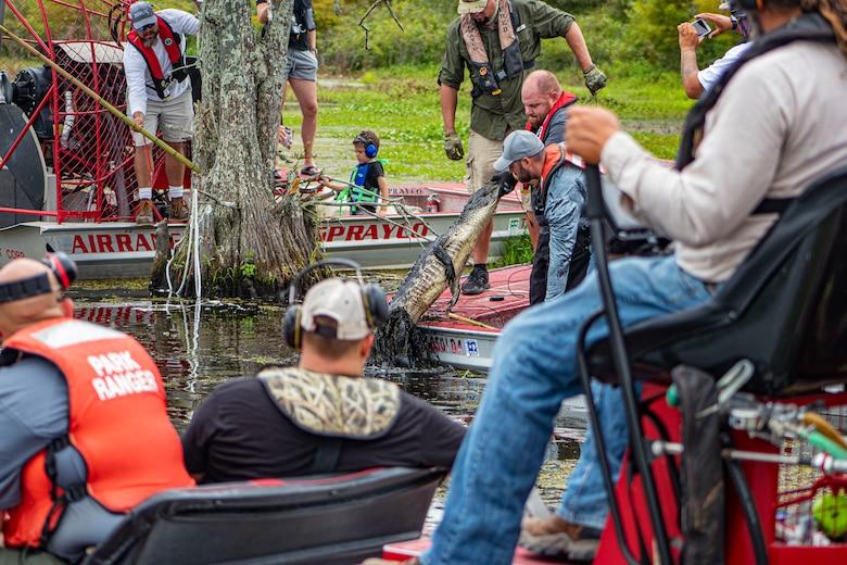 2021 Town Bluff Alligator Hunt