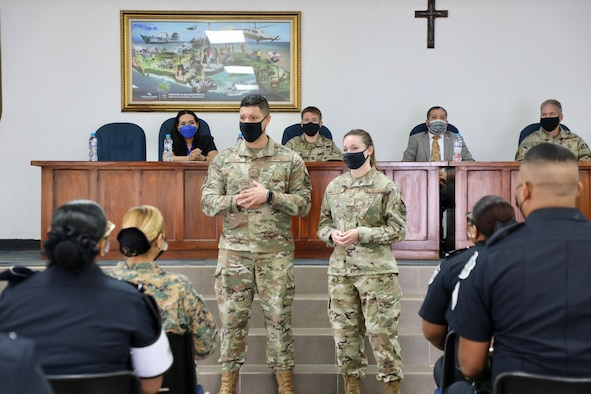 571st MSAS supports Women's Peace, Security event in Panama