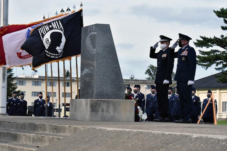 POW/MIA remembrance retreat ceremony