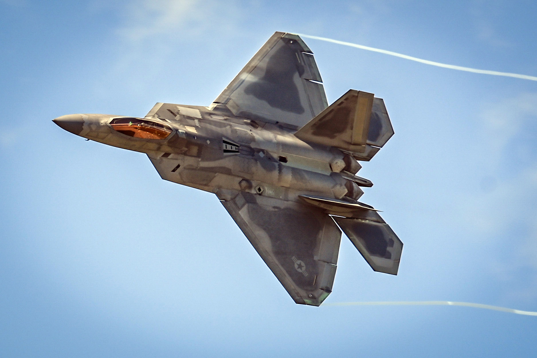 F-22 Demo Team at Thunder Over New Hampshire Air Show