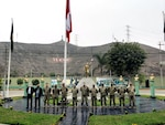 Army South and Peruvian Army staff planners meet in Lima, Peru, to identify training and bilateral exercise opportunities between the two armies Sept.13, 2021. Partnering with Army South means all are united in our shared responsibility as defenders of the Inter-American values which include, freedom, human rights, adherence to the rule of law, and a commitment to peace and security for our citizens.