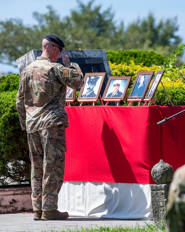 Kadena Honors the Fallen on the 20 Year Anniversary of 9/11