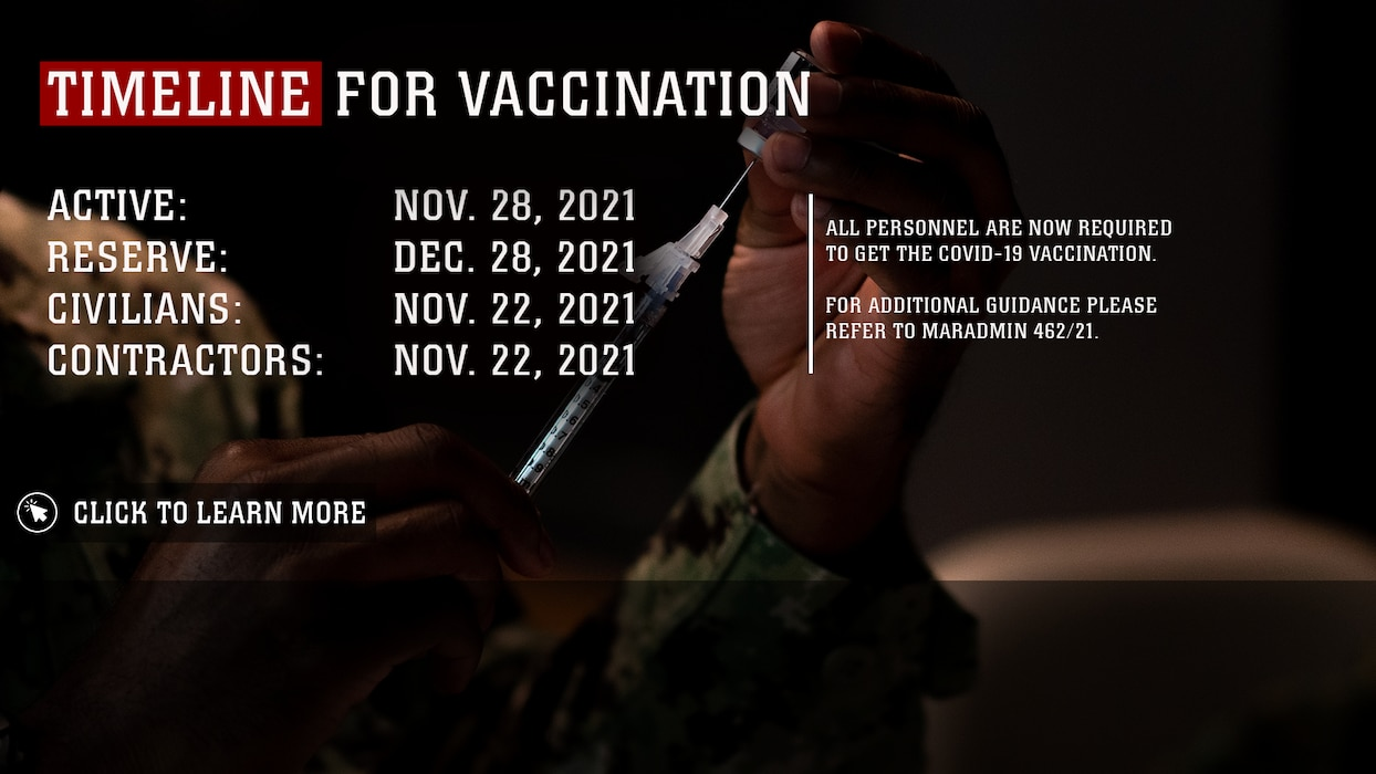 COVID-19 VACCINATION REQUIREMENT