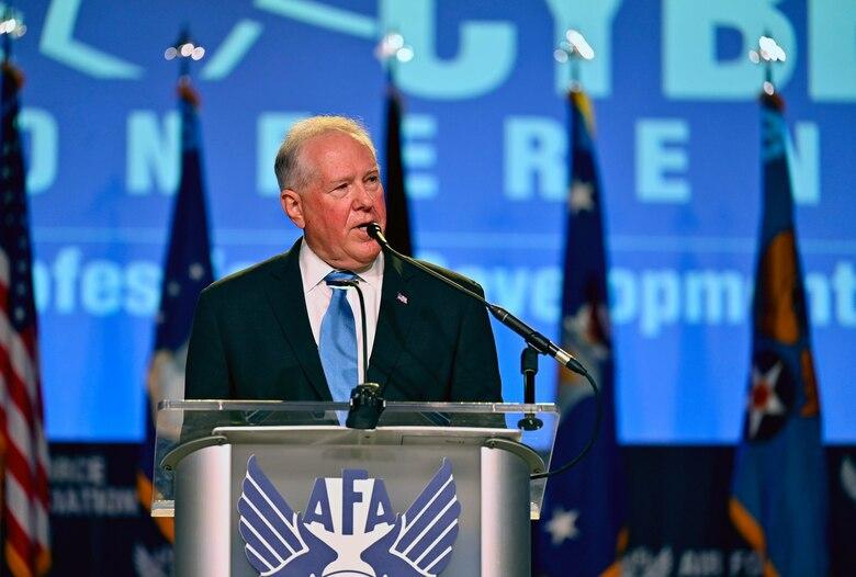 SECAF Speaks at 2021 ASC Conference