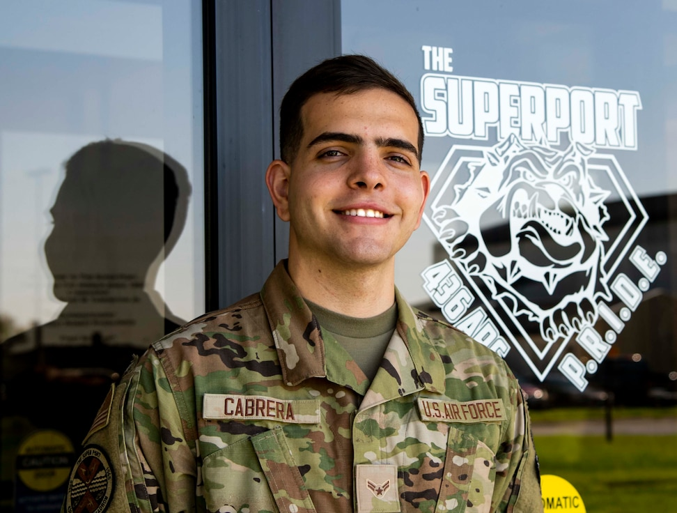 Dover AFB Airman draws strength from Cuban heritage