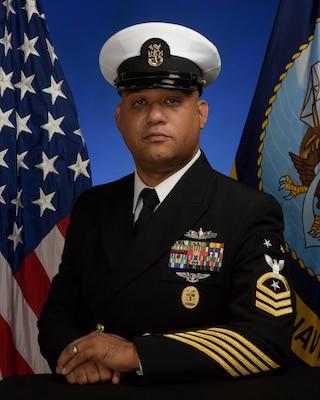Master Chief Damien A. Brown