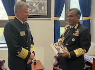 Pacific Fleet commander's meetings at International Seapower Symposium