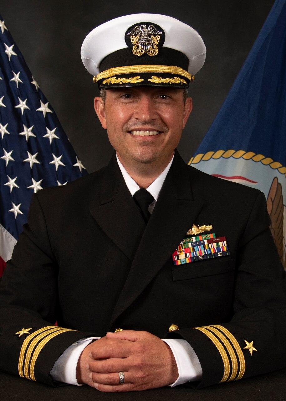 Commander Joshua J. Freeze