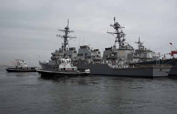 USS John S. McCain Departs U.S. 7th Fleet After 24-years Forward Deployed
