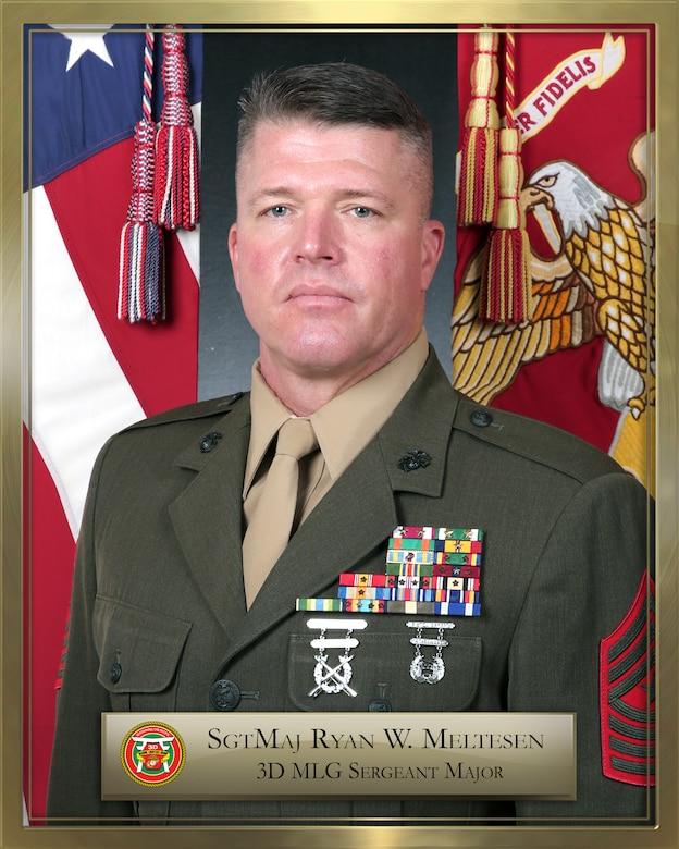 Sgt. Maj. Ryan W. Meltesen