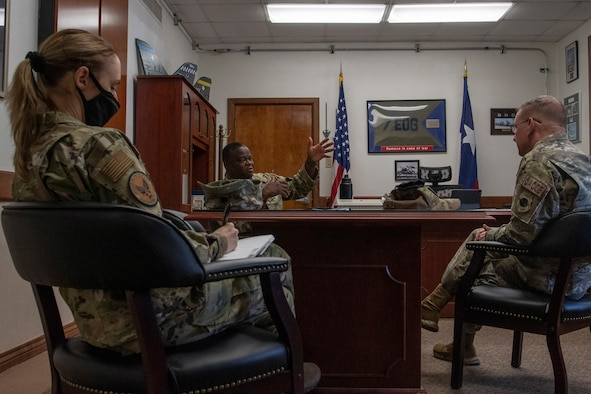 HAF TFI conducts Dyess AFB Health Assessment