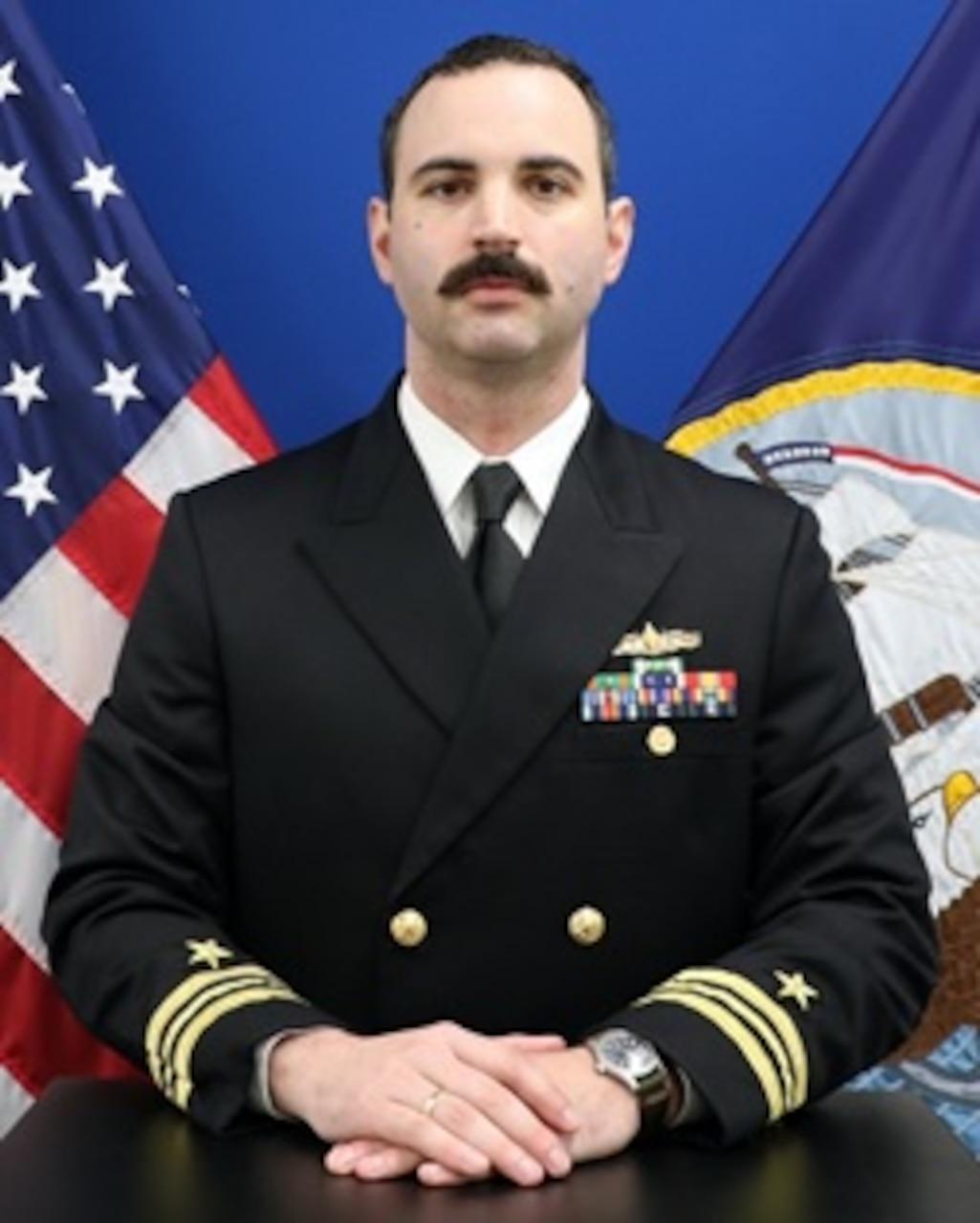 Lieutenant Commander Peter J. Bue