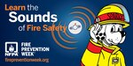 Learn the sounds of fire safety
