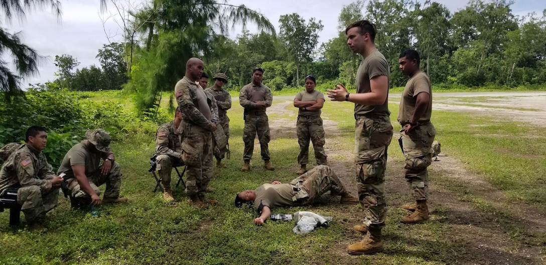 1984th U.S. Army Hospital Detachment Soldiers return from Exercise Forager in Palau