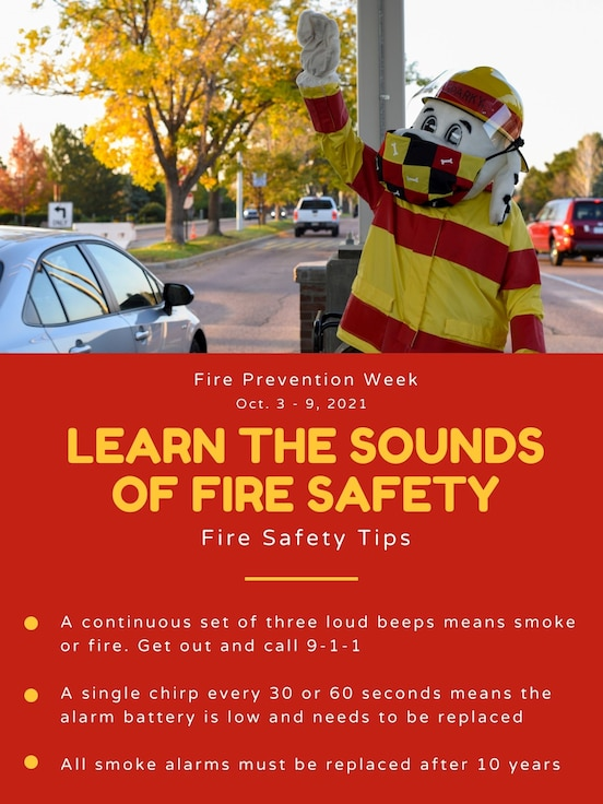 Fire safety tips graphic