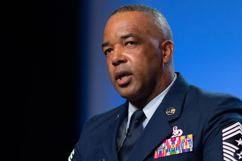 Photo of Chief Master Sgt. Timothy White