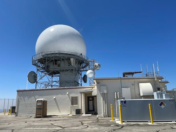 photo of long range radar site