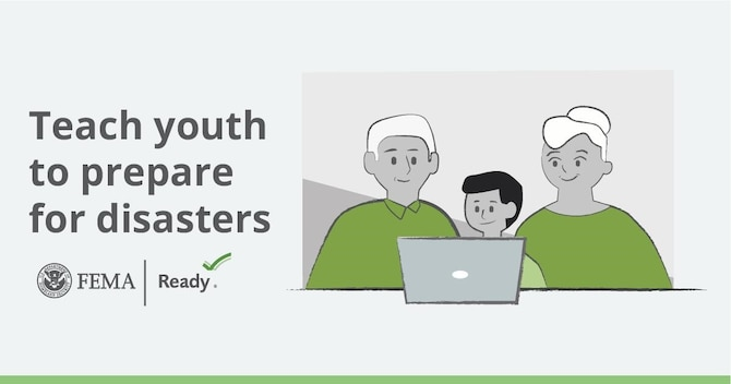 Teach youth to prepare for disasters