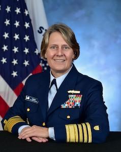 Photo of Admiral Linda Fagan