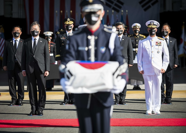 DPAA hosts joint repatriation ceremony with ROK