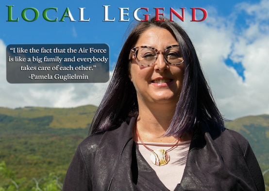 This month's Local Legend nomination is Pamela Guglielmin, 31st Force Support Squadron base formal training manager, and an Aviano native. She manages the training for all military and civilian members assigned to Aviano Air Base.