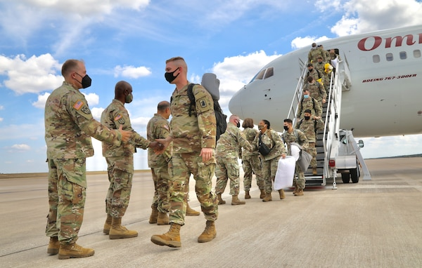 340th Chemical Company returns from Japan deployment