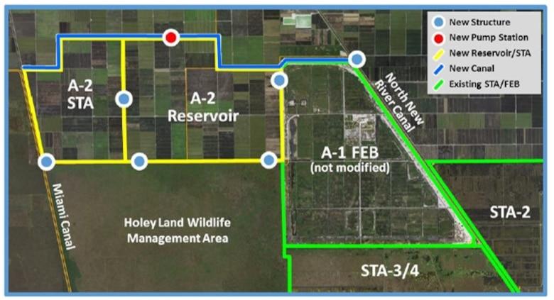 CEPP EAA Reservoir Aerial Map