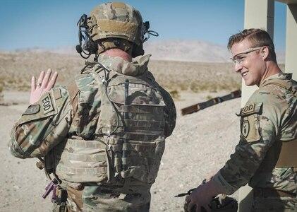 U.S. Army Explosive Ordnance Disposal technician earns Master EOD Badge on Fort Irwin